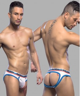 Air Jock with Show-It - White