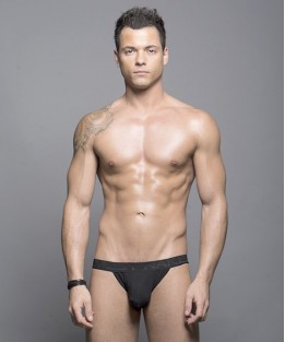 Almost Naked Bamboo Jock - Black