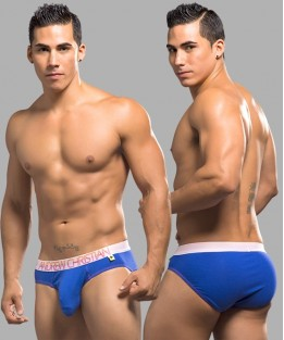 Almost Naked Tagless Brief - Royal Blue