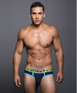 Fly Tagless Brief - Navy