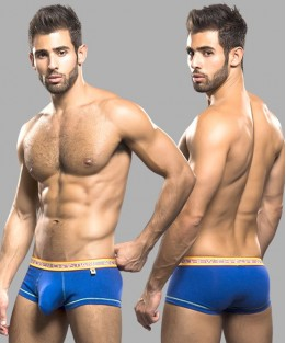 Glow Pop Boxer with Almost Naked - Royal Blue