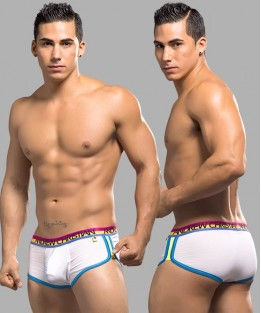 RetroPop Boxer with Show-It - White